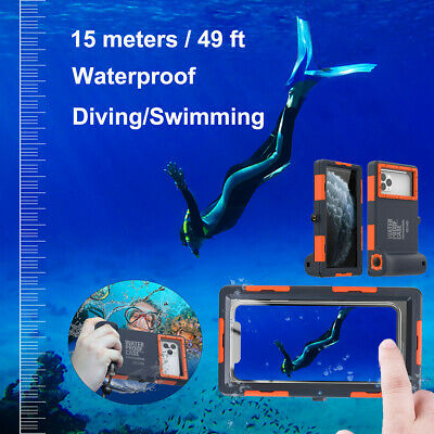 AU47.82 • Buy SHELLBOX Waterproof Diving Case 49ft Underwater Camera Cover For IPhone Samsung