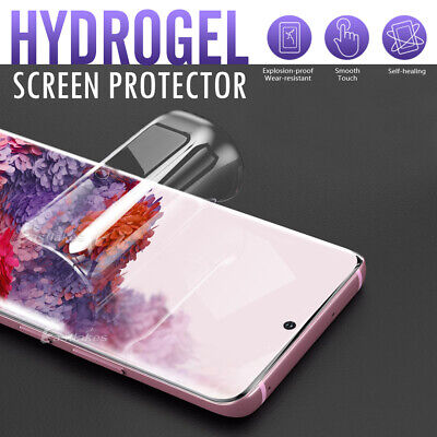 AU3.89 • Buy Hydrogel Screen Protector Samsung Galaxy S20 S10 S9 S8 Ultra Plus Note 9 20 10