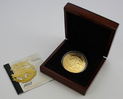 £30 • Buy 2012 St. George And The Dragon Base Metal Gold Plated £5 Coin