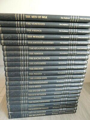 Maritime History The Seafarers Time Life Books Set Of 22  • 40£