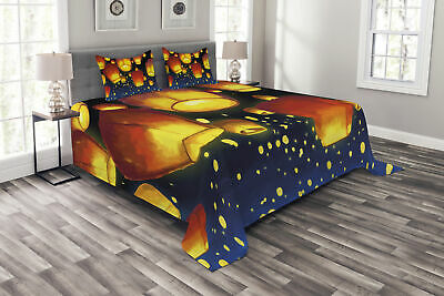 Lantern Bedspread Floating Fanoos Chinese • 55.99£