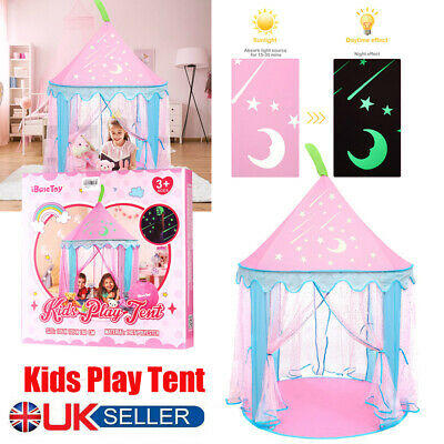 IBaseToy Kids Princess Castle Play House Girls Tent Toy With Glow In The Dark • 16.69£