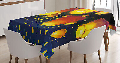 Lantern Tablecloth Floating Fanoos Chinese • 18.99£