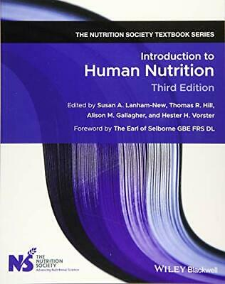 £44.39 • Buy Introduction To Human Nutrition (The Nutrition Society Textbook) Book The Cheap