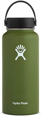 $40 • Buy Brand New Hydro Flask 40 OZ Wide Mouth Olive FREE SHIPPING