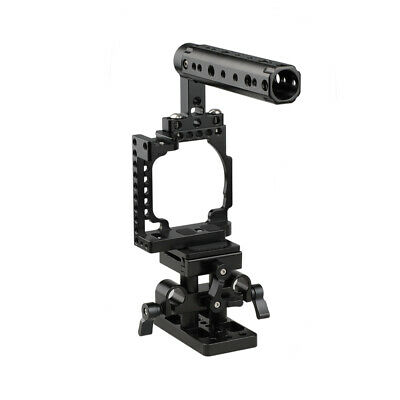 $ CDN118.62 • Buy CAMVATE Sony Cage Arca Baseplate Mount Cold Shoe For A6500 A6300 A6000 15mm Rail