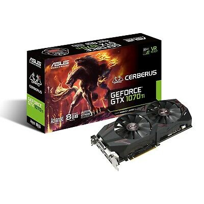 $ CDN203.34 • Buy Asus GeForce GTX 1070Ti Cerberus Gaming 8GB Video Card NVIDIA Graphics