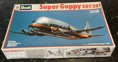 Rare Revell 1:144 Airbus Super Guppy Sgt201 Vintage Model Kit Sealed Parts • 25£