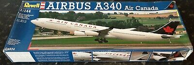 REVELL 1:144 AIRBUS A 340 Air Canada 4234 Vintage Model Kit  • 60£