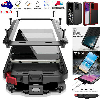 AU30.89 • Buy Samsung Galaxy Note 20 S10+ S20 Ultra Aluminum Shockproof HEAVY DUTY Case Cover