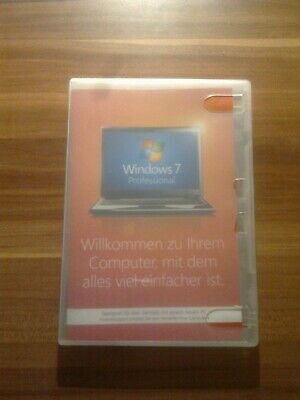 Microsoft Windows 7 Professional 32-bit Vollversion OEM Deutsch DVD FQC-00734 • 34.55£