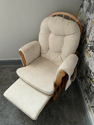 Nursery Rocking Chair With Foot Stool • 35£