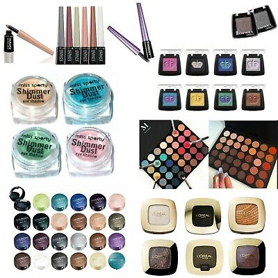 Loreal / Maxfactor / Ck / Rimmel / Kg / Constance Carroll Eyeshadow & Palettes • 2.75£