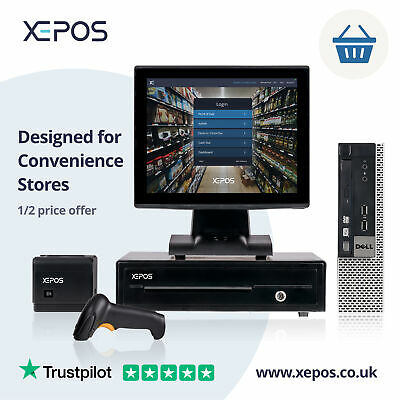 12in Retail EPOS System For Cash Register Till For Convenience Stores  • 149£