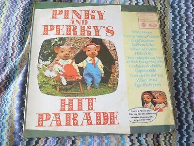 Pinky And Perky Hit Parade Vinyl LP Plays VG MFP1282 Children Novelty • 0.99£