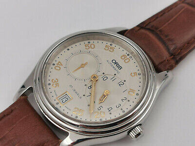ORIS 7473 Regulator Automatic Date Cal 649 - All Stainless Steel - 35.5 Mm • 371.23£