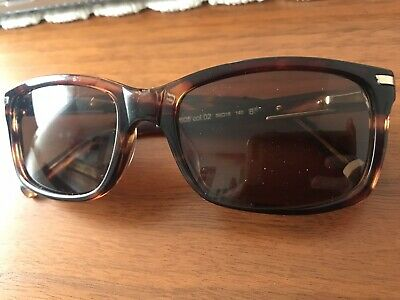 Original Mercedes Benz Sunglasses Men's Historical Star Brown Made In Italy • 75£