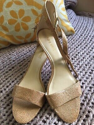 AU17.50 • Buy Nine West Size 7.5M Gold Low Heel Shoes RRP: $139