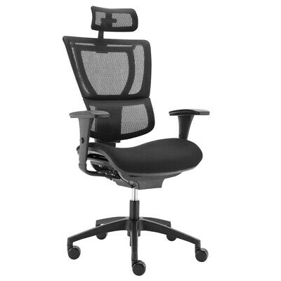 AU498 • Buy Ergohuman Fit IOO Executive Mesh & Upholstered Office Chair High Back