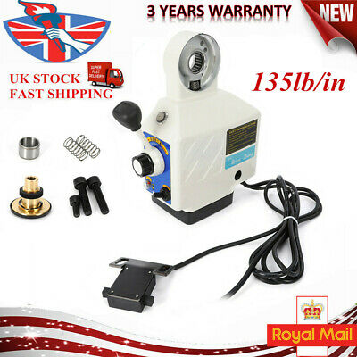 Power Drive Feed Table Kit Fit Bridgeport Milling X Axis135lb/in Power Feeder UK • 112.50£