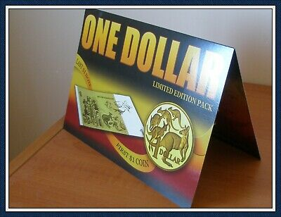 AU36.55 • Buy Limited Edition Pack $1 Banknote Johnston/Stone And  $1 Coin In A Pack