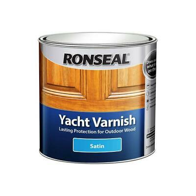 Ronseal External Yacht Varnish Satin - 1L • 30.80£