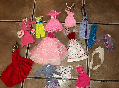 $ CDN26.67 • Buy Huge Lot Of Vintage 80's Barbie Doll Clothes & Accessories