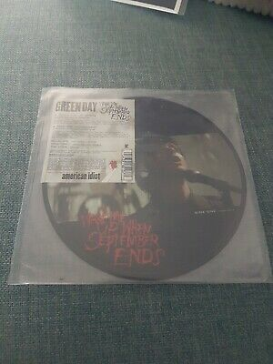 "Green Day - Wake Me Up When September Ends Picture Disc 7"" Vinyl Single • 19.99£"
