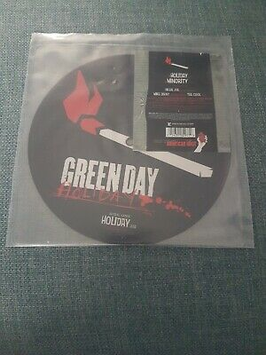 "Green Day - Holiday 7"" Picture Disc Vinyl • 9.99£"