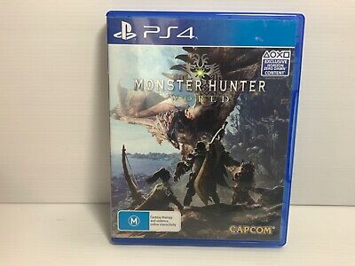 AU20.92 • Buy Monster Hunter World - Playstation 4 PS4 - Free Tracked Postage
