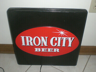 $ CDN92.27 • Buy Iron City Beer Sign -  Vintage
