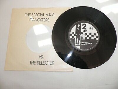 The Special Selecter Gangsters  Tt 1-4  7  Record Ska Two Tone Mod Punk Rudy Red • 15.99£