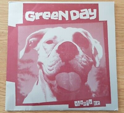 Green Day Slappy 7  EP 45 RPM Lookout Records, With Insert. Rare Collectors Item • 29.99£