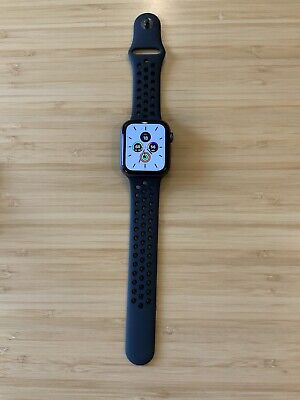 $ CDN310.69 • Buy Apple Watch Series 4 Nike+ 44 Mm Space Gray Aluminum Case With Anthracite/Black