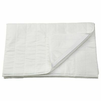 Ikea LUDDROS Mattress Protector Topper, Poly Cotton All Sizes • 11£