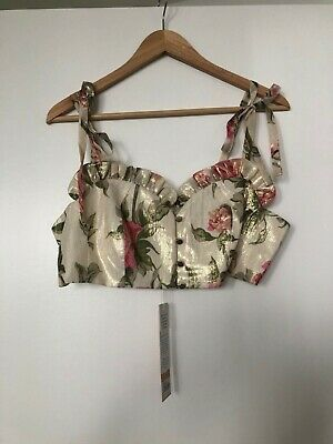 AU59 • Buy BMWT Alice Mccall Salvatore Top Size 12 Floral