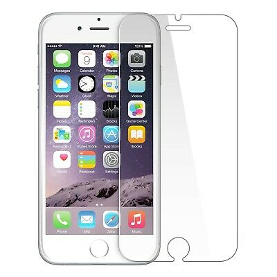 For IPhone 5 5C 5S SE 6 6s 7 8 Plus 9H Tempered Glass Screen Protector • 1.30£