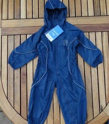 BNWT TARGET DRY RASCAL Kids Waterproof Puddle Splash Suit All In One Age 2-3 Yrs • 12£
