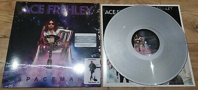 Ace Frehley Spaceman 180G Silver Vinyl New Not Sealed + Download KISS • 31.95£