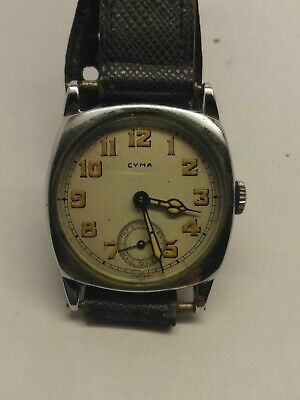 Antique Mens Watch CYMA • 145.85£