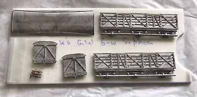 00 Gauge / 4mm Scale K's GWR White Metal Kit. • 5£
