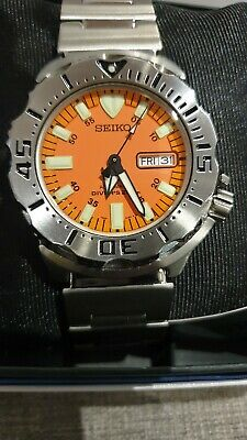 $ CDN1036.74 • Buy NOS SEIKO Monster Orange SKX781K1 1st Generation Automatic Watch RARE 7S26