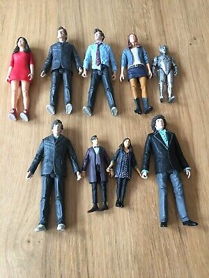 Dr Who Figure Bundle 4th Doctor Amy Pond Clara Oswin Neil Tennent Job Lot • 60£