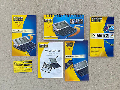 Psion 5mx Instruction Manuals • 15£