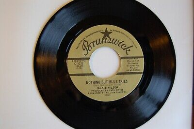 Northern Soul Collection: Jackie Wilson  Nothing But Blue Skies   Brunswick Ex+  • 2.99£