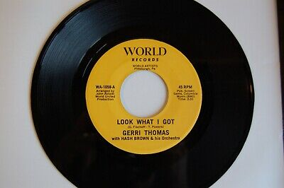Northern Soul Collection: Gerri Thomas  Look What I Got   World 1059 EX+++  • 3.20£
