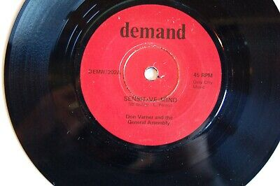 Northern Soul Collection:Don Varner & General Assembly Sensitive Mind  Demand Ex • 2.99£