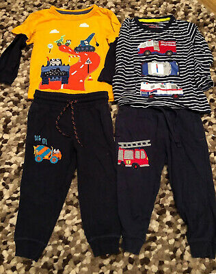 Boys Blue Zoo Jogger Outfits 18-24 • 3.99£