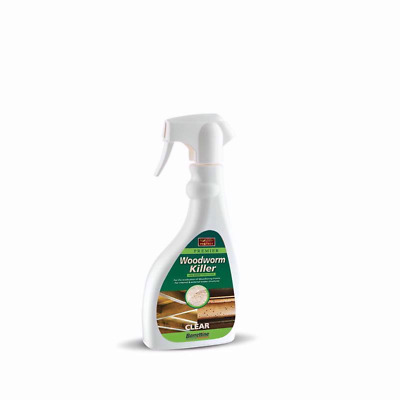 £9.20 • Buy WOODWORM KILLER OIL WOOD BORING INSECTS TREATMENT SPRAY 500ml UK