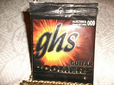 $ CDN7.95 • Buy (01) Set GHS Electric Guitar Boomers Strings 09-42 GBXL